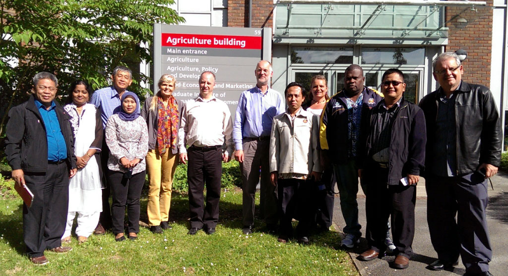 Meeting at the University of Reading, June 2014